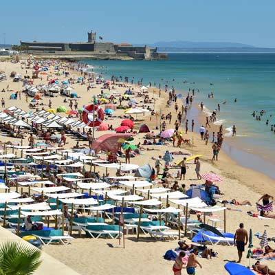 Praia do Carcavelos plage