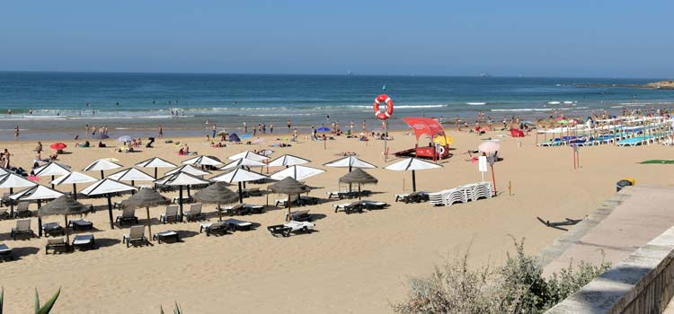 Praia do Carcavelos Strand