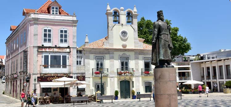 Cascais historic centre
