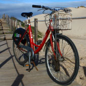 Bike ride to Guincho beach